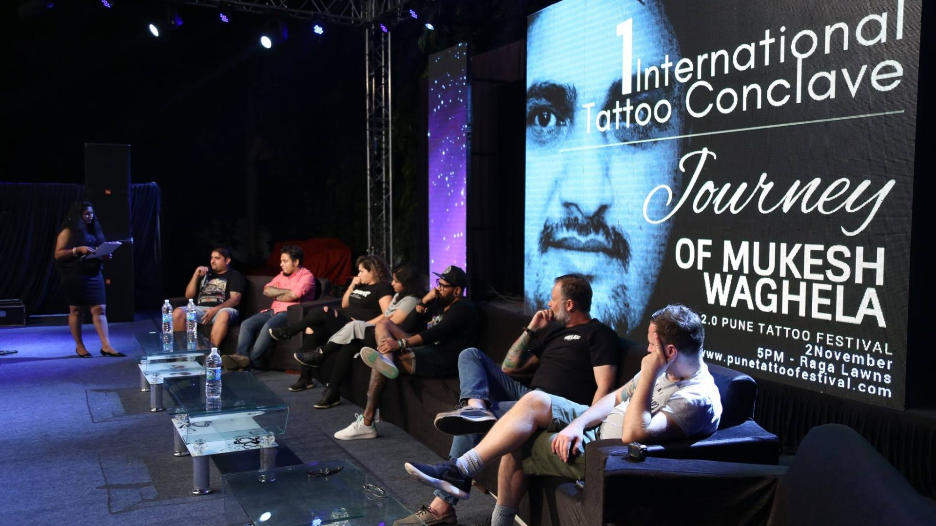 Tattoo Journey of mukesh Waghela as a Judge in Pune Tattoo festival.