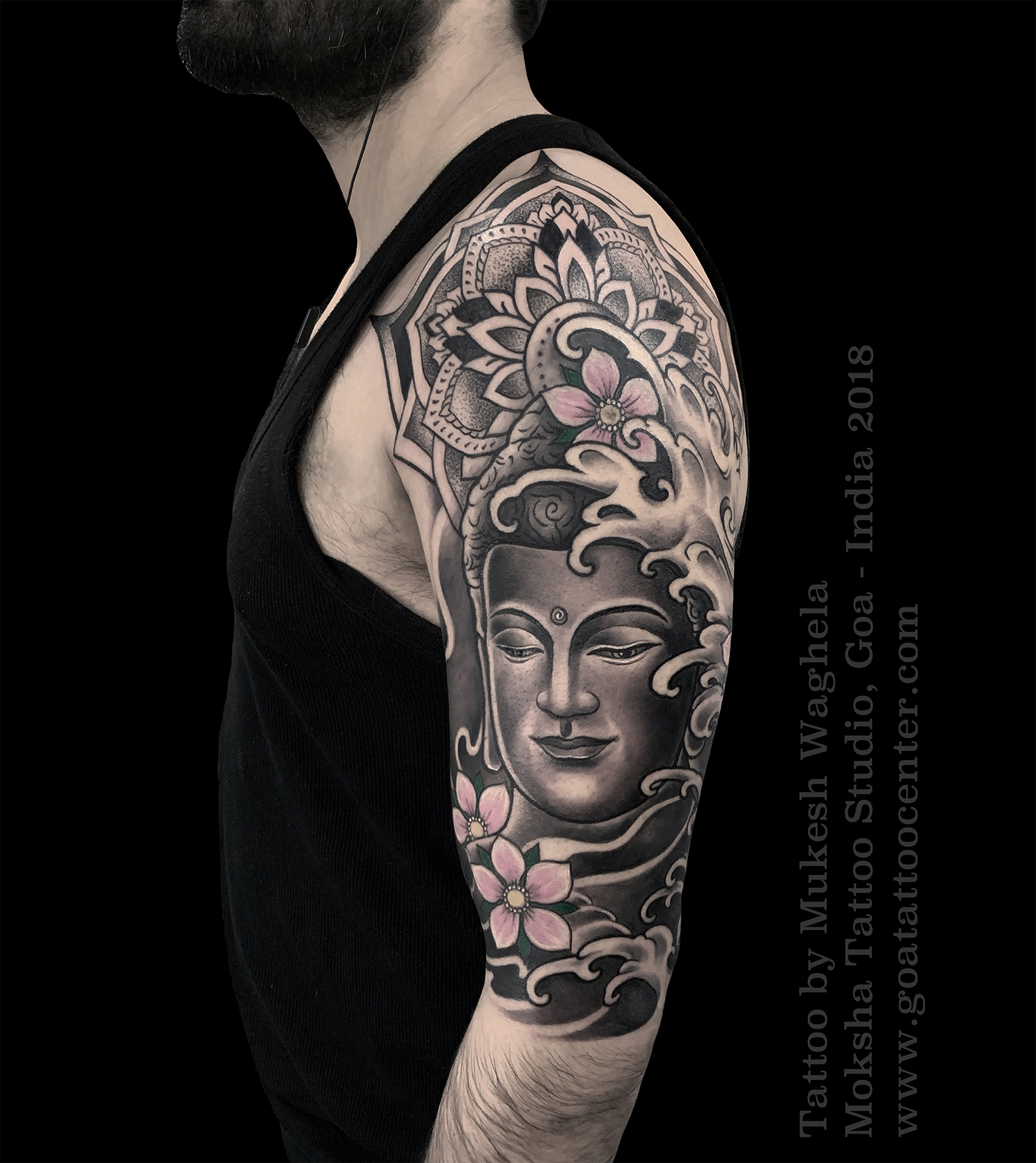 Buddha Tattoo Picture buddha tattoo donemukesh waghela at heartwork tattoo